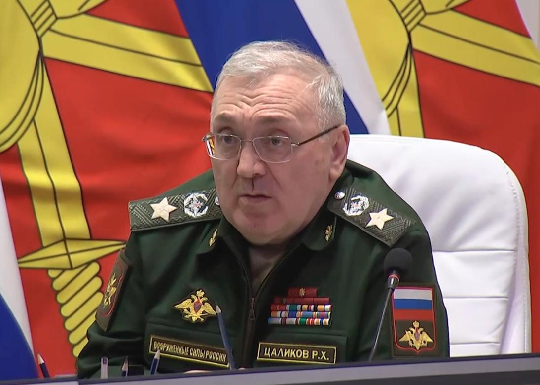 Первый замминистра обороны Руслан Цаликов провел совещание в штабе 58-й армии во Владикавказе