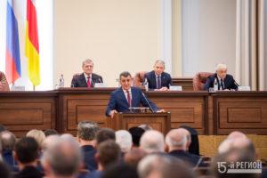 Нового врио главы Северной Осетии официально представили республике