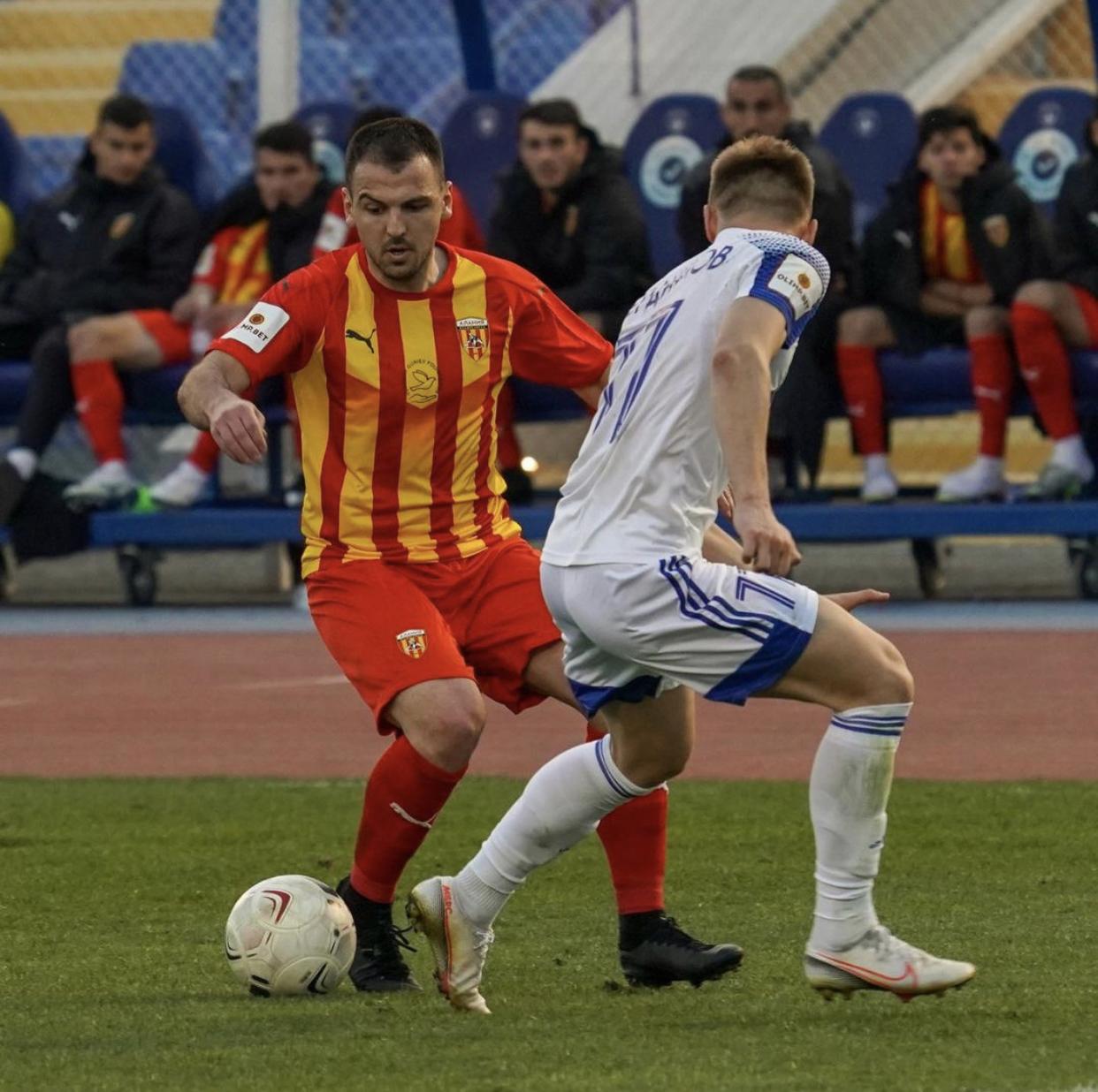 Два футболиста «Алании» дисквалифицированы на несколько матчей после игры с «Волгарем»