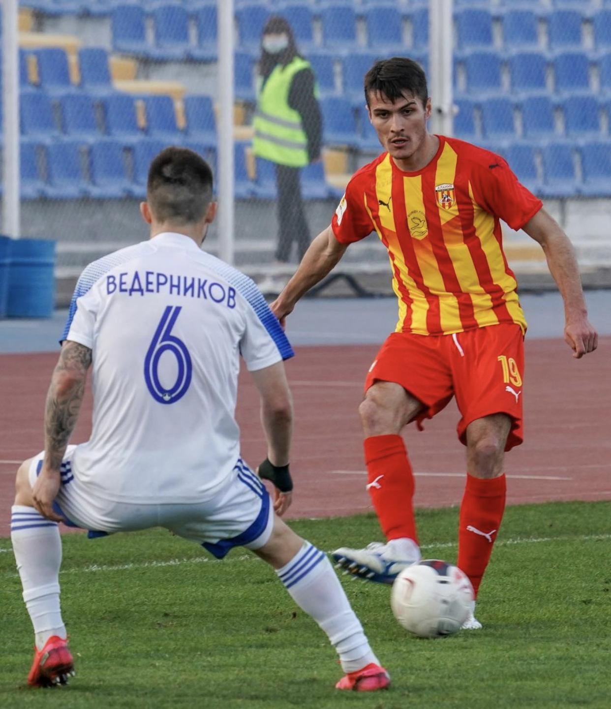 «Волгарь» выиграл у «Алании» благодаря суперголу Болонина с 70 метров