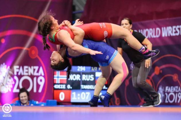 Амине Танделовой вновь не было равных на первенстве России по спортивной борьбе