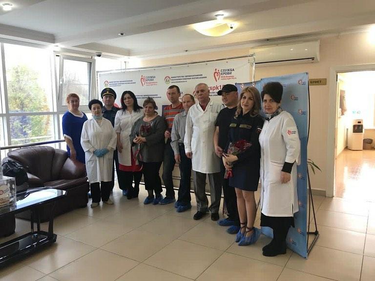 Ежегодно жители Северной Осетии сдают около пяти тонн донорской крови