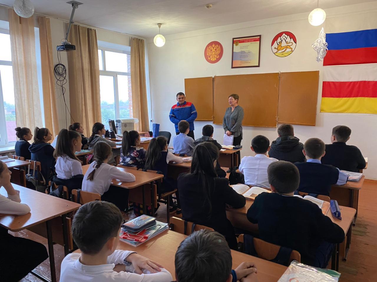«Россети Северный Кавказ» научили школьников Дигорского района правилам электробезопасности