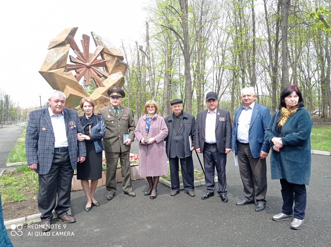 Во Владикавказе отметили 35-ю годовщину аварии на Чернобыльской АЭС