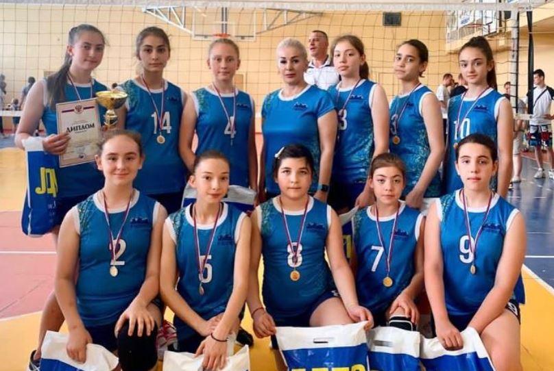 «Аланочка-2» выиграла Кубок Волгограда по волейболу