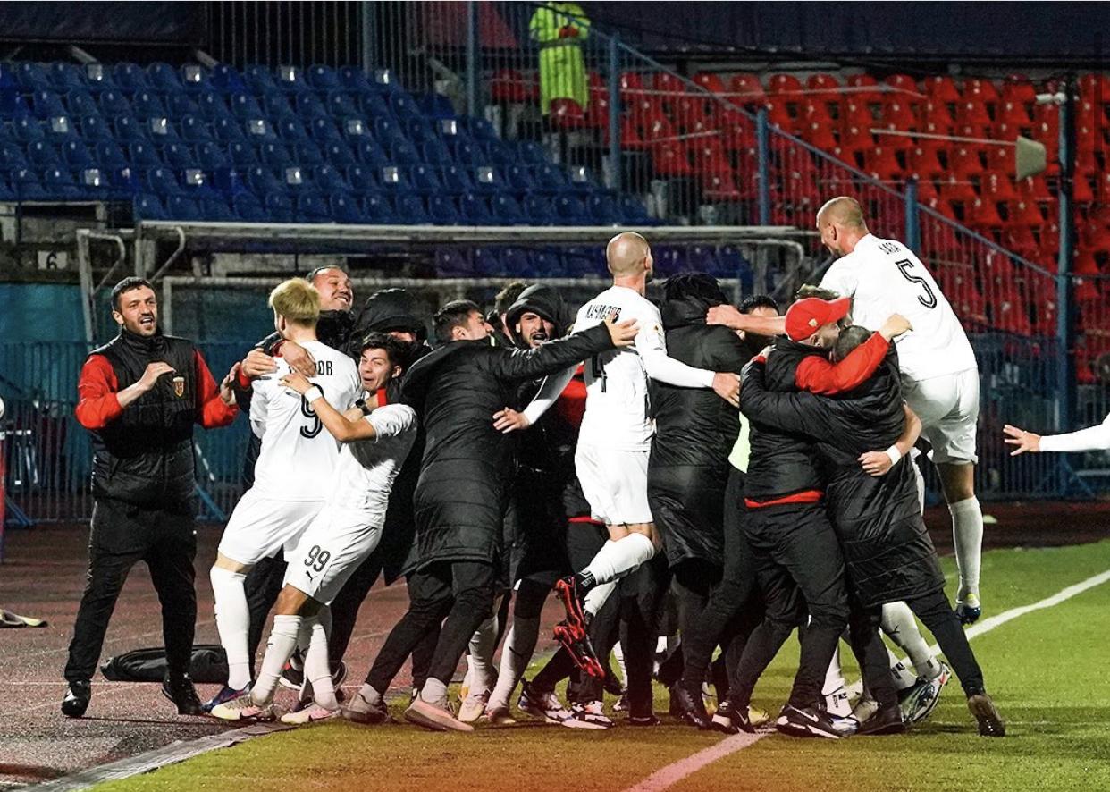 «Алания» в меньшинстве вырвала победу у клуба «СКА-Хабаровск» и заняла четвертое место в ФНЛ