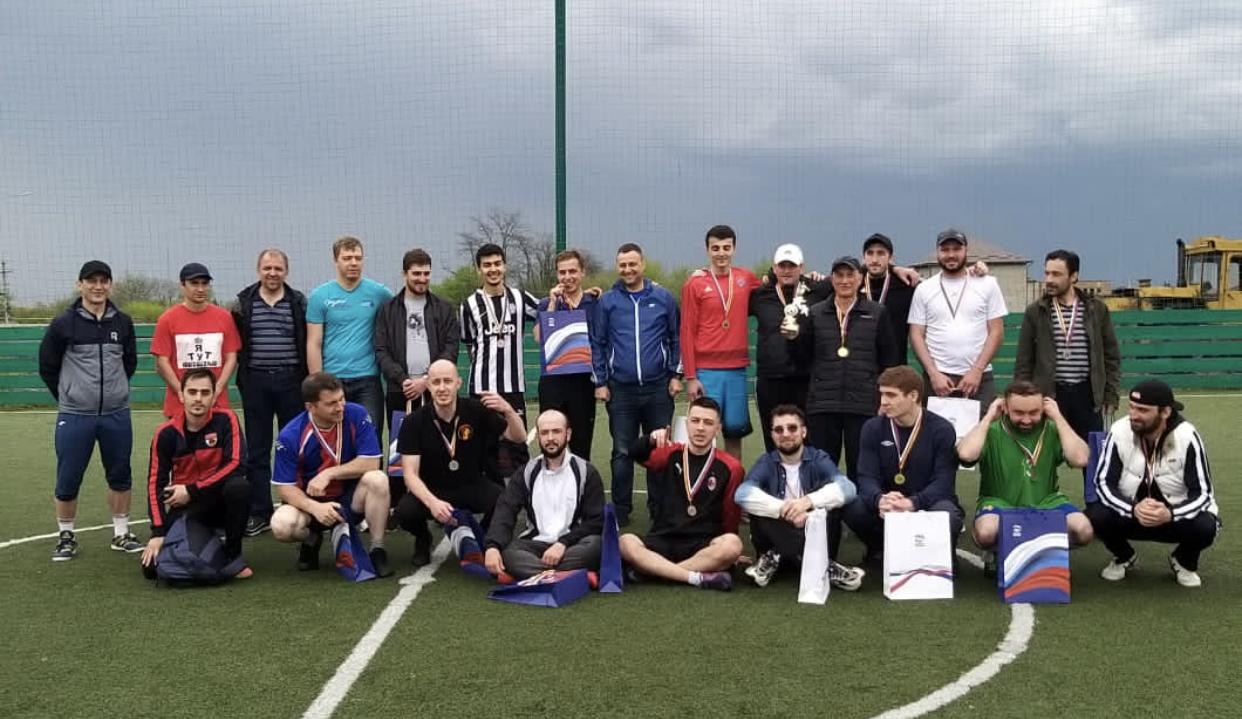 Турнир по мини-футболу среди сотрудников СМИ состоялся во Владикавказе