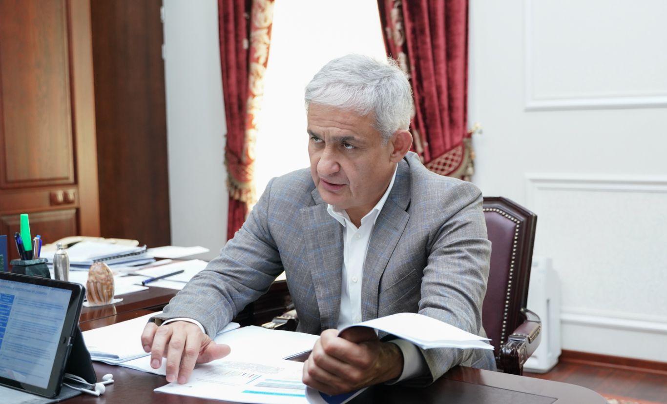 В Северную Осетию прибыл заместитель министра экономического развития РФ Сергей Назаров