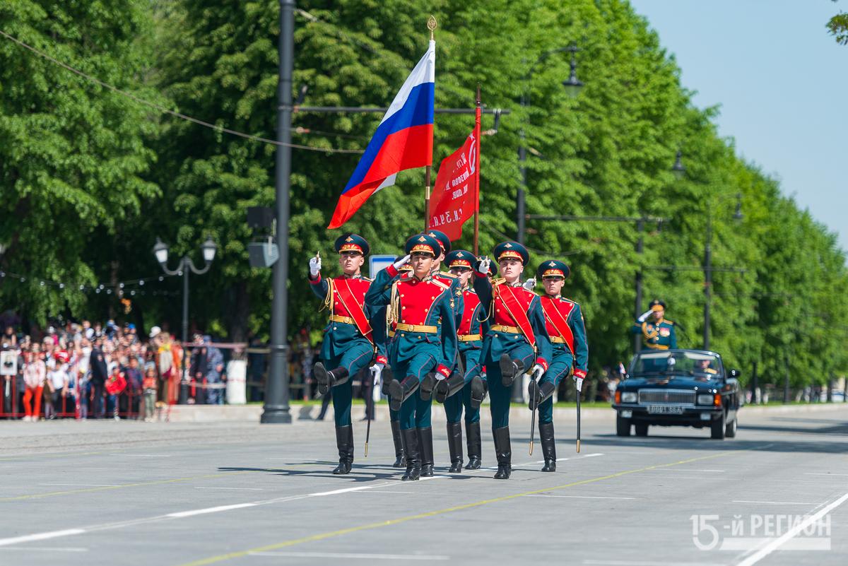 Во Владикавказе состоялся Парад Победы