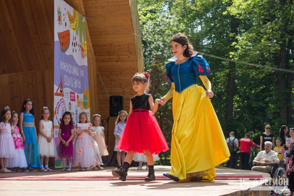 Во Владикавказе отметили Международный день защиты детей