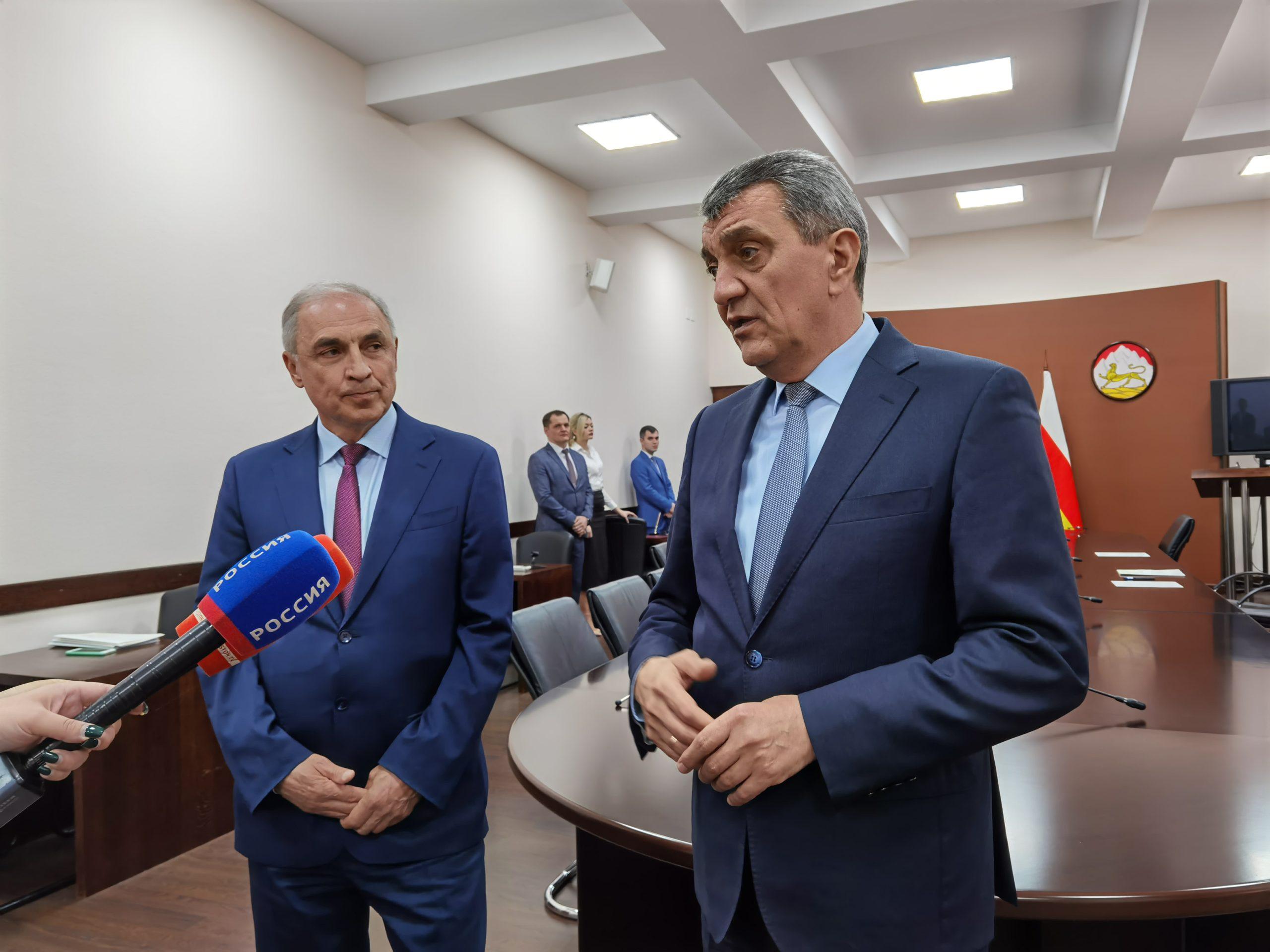 Правительство Северной Осетии и Росфинмониторинг подписали соглашение о сотрудничестве