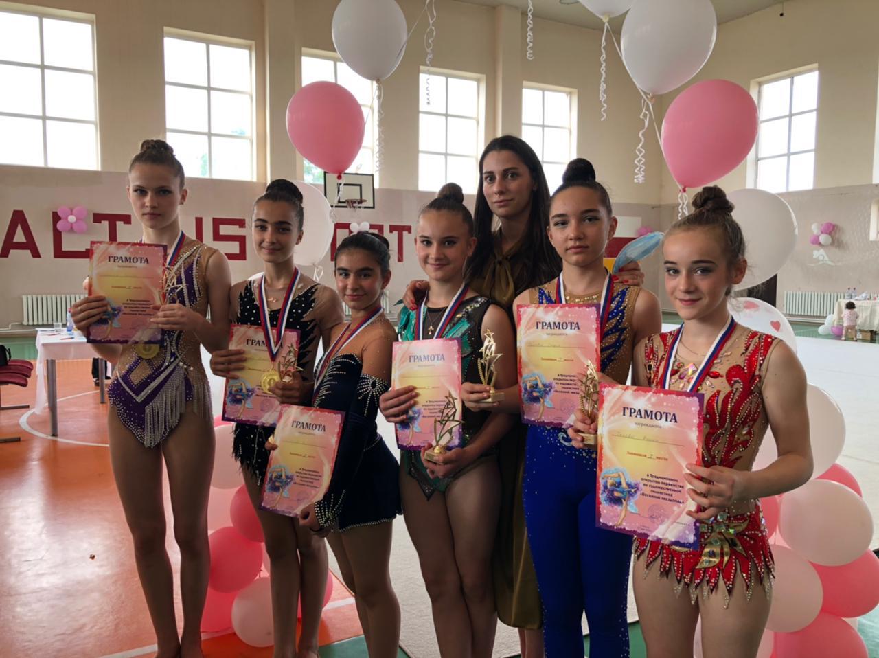 Юные гимнастки из Ардона стали победителями и призерами открытого первенства