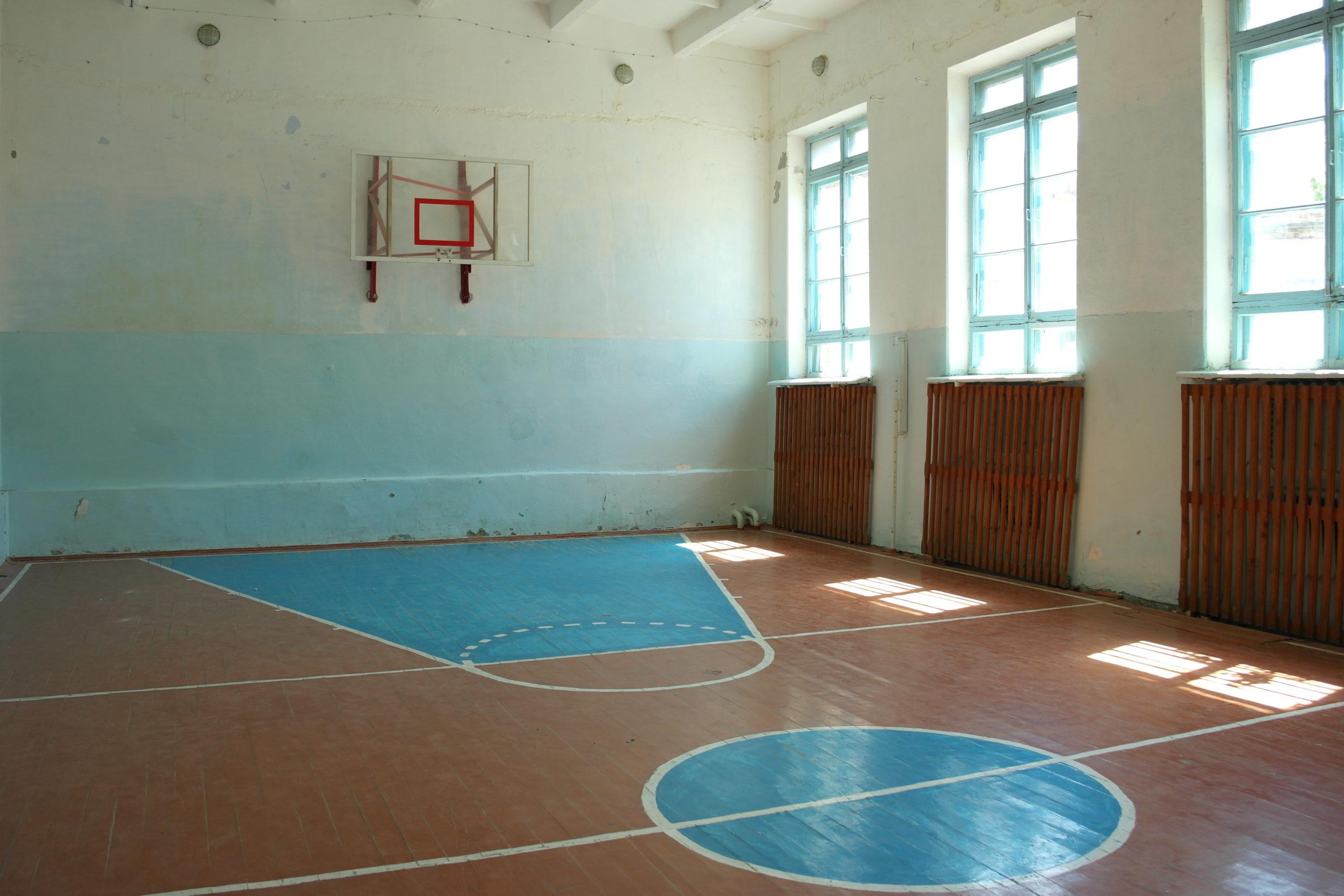 В Павлодольской отремонтируют школьный спортзал