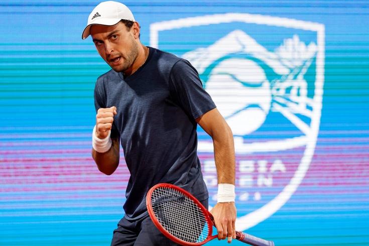 Аслан Карацев обыграл серба Кецмановича на турнире в Риме