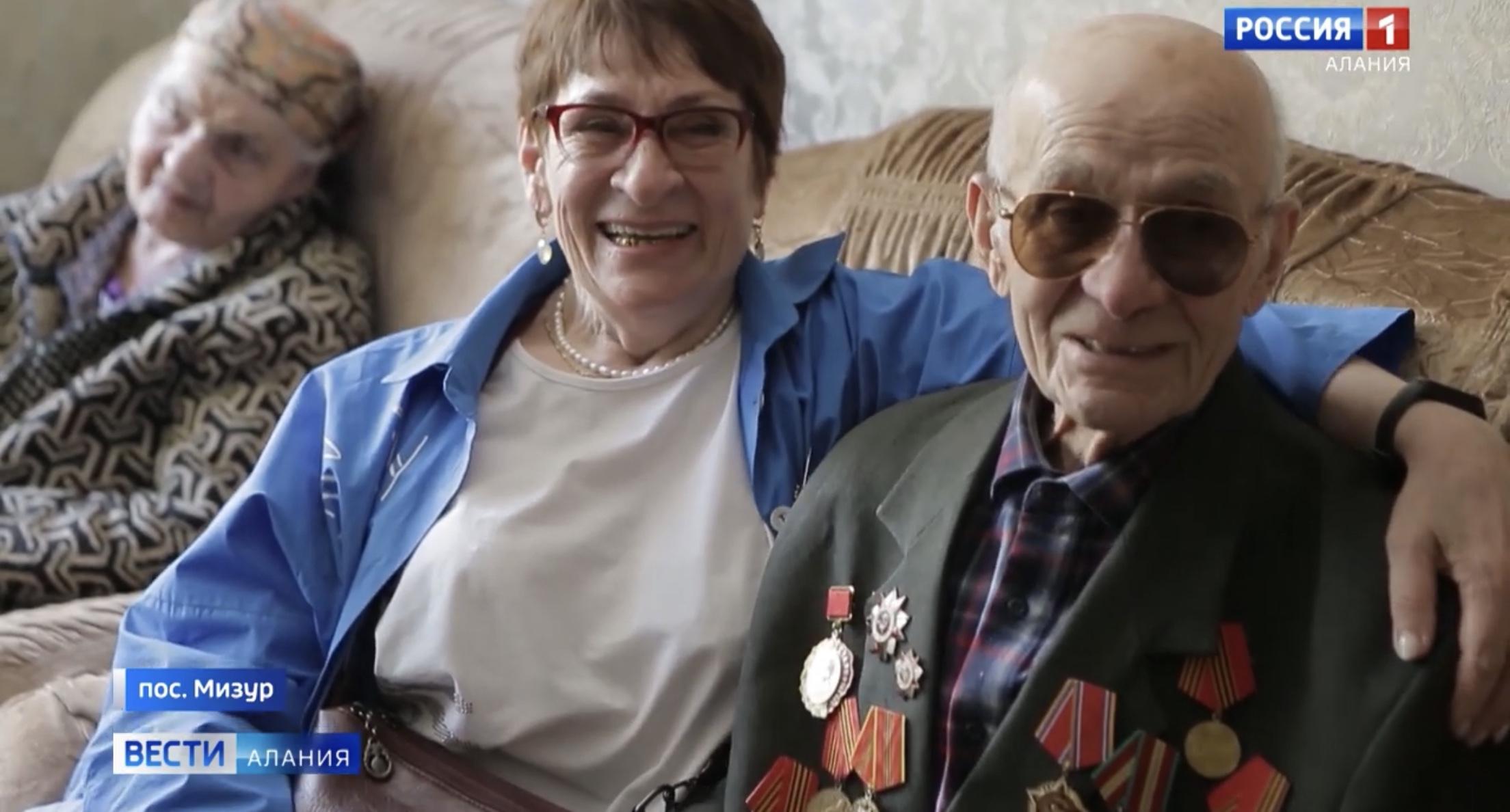 Ветеран Великой Отечественной войны из Мизура спустя много лет встретился с дочерью