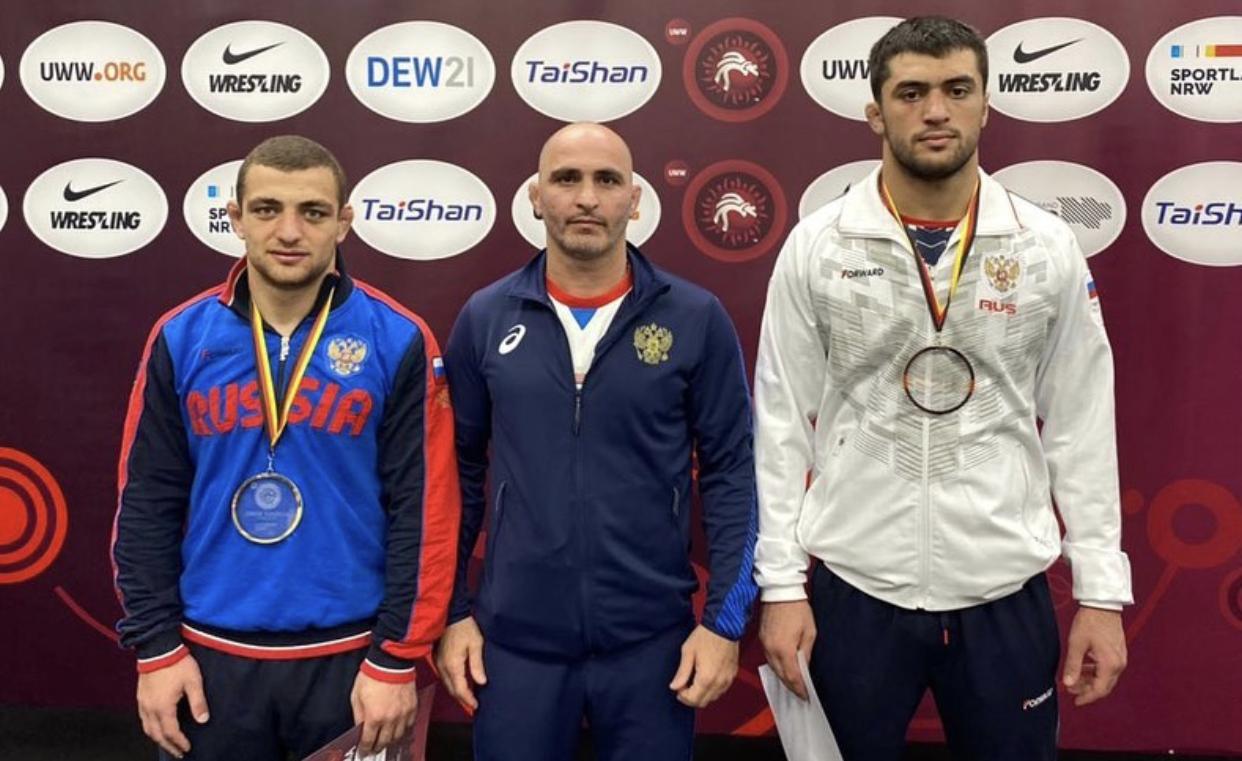 Арслан Багаев победил на первенстве Европы по вольной борьбе, Арсамаг Зассеев завоевал «бронзу»