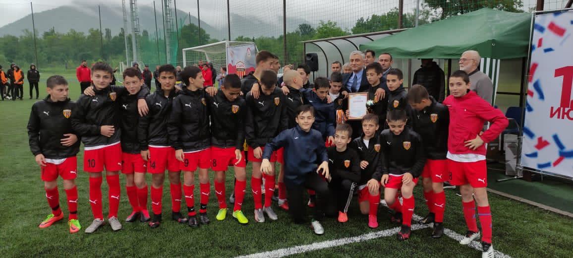 Юные футболисты академии футбола «Алания» стали победителями «Кубка Дружбы»