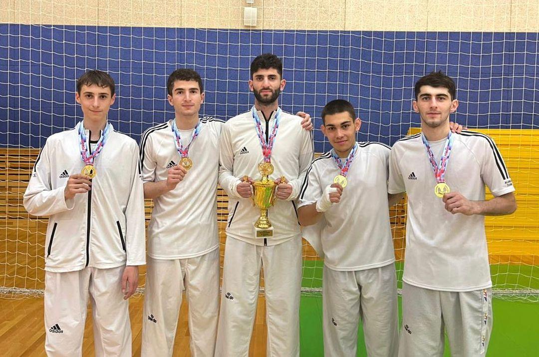 Сборная Северной Осетии выиграла командный чемпионат России по тхэквондо