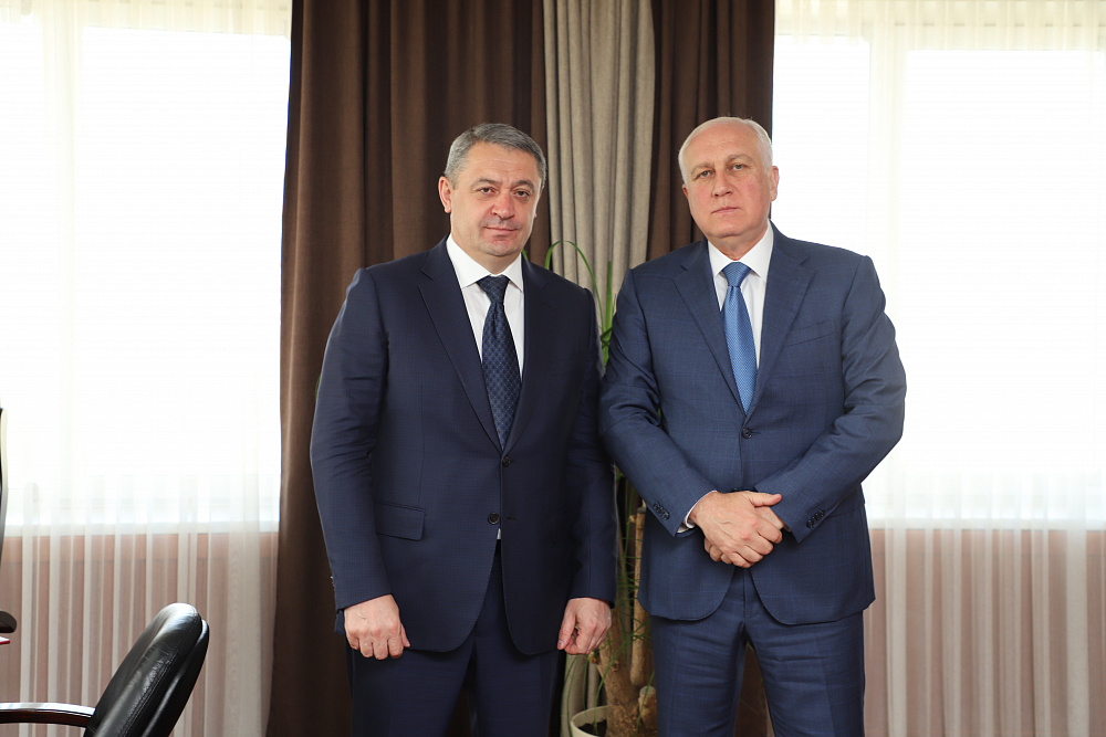 Вячеслав Мильдзихов приступил к исполнению обязанностей в качестве главы АМС
