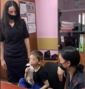 Полицейские Владикавказа вернули в семью потерявшегося 6-летнего мальчика