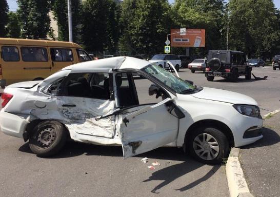 Один человек пострадал в ДТП во Владикавказе