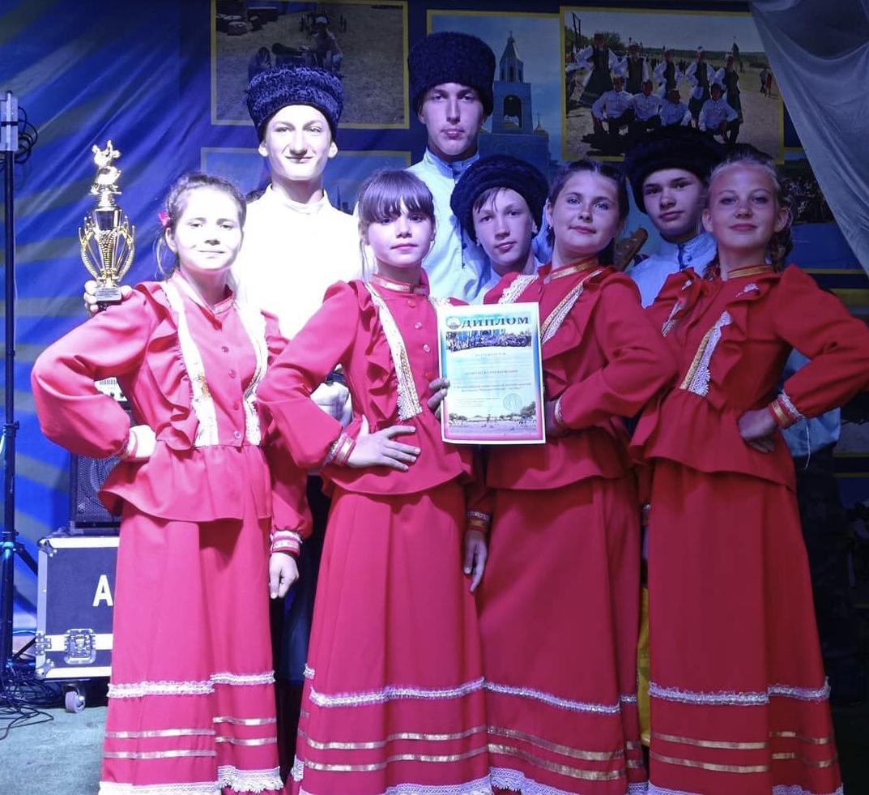 Отряд юных казачат из станицы Луковской представил Северную Осетию на всероссийском фестивале