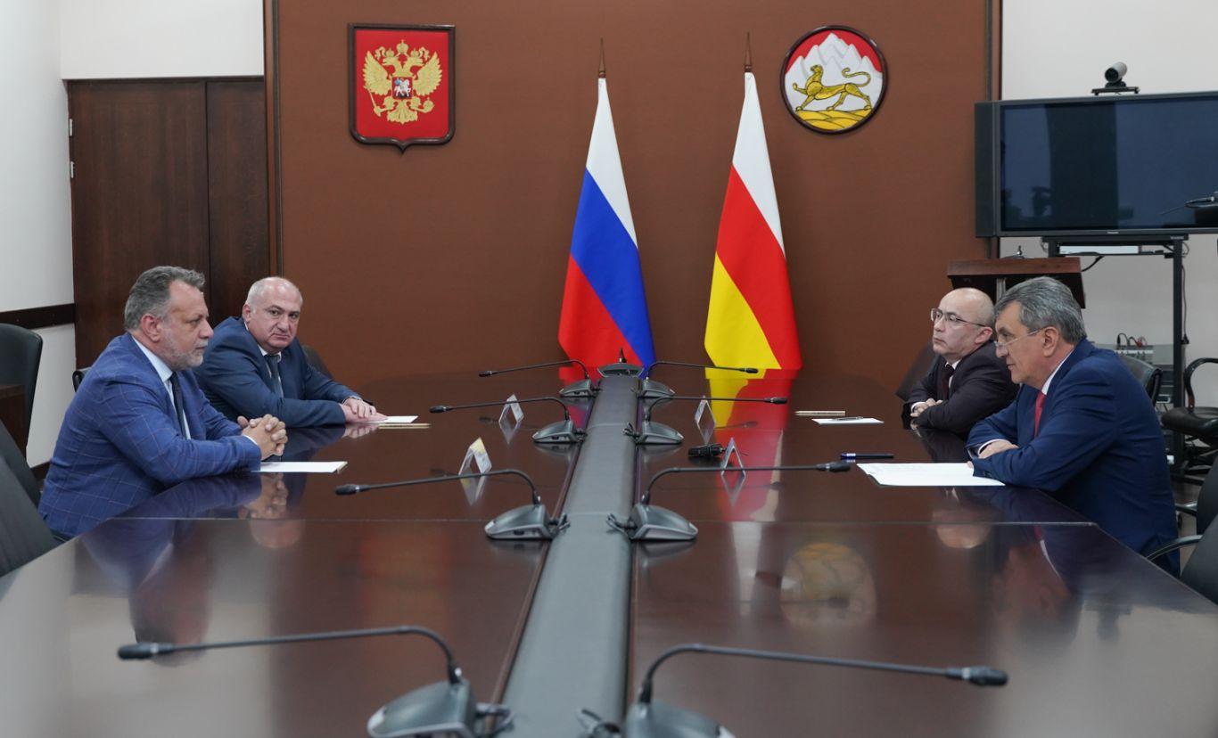 В Северную Осетию прибыл генконсул Итальянской Республики в ЮФО и СКФО Пьерпаоло Лодиджиани