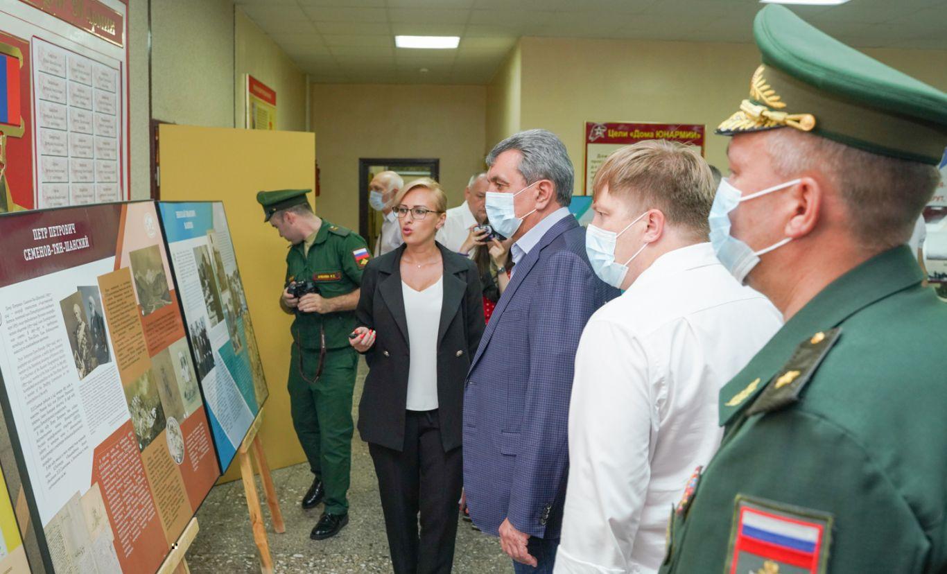 Во Владикавказе состоялось открытие передвижной выставочной экспозиции Русского географического общества