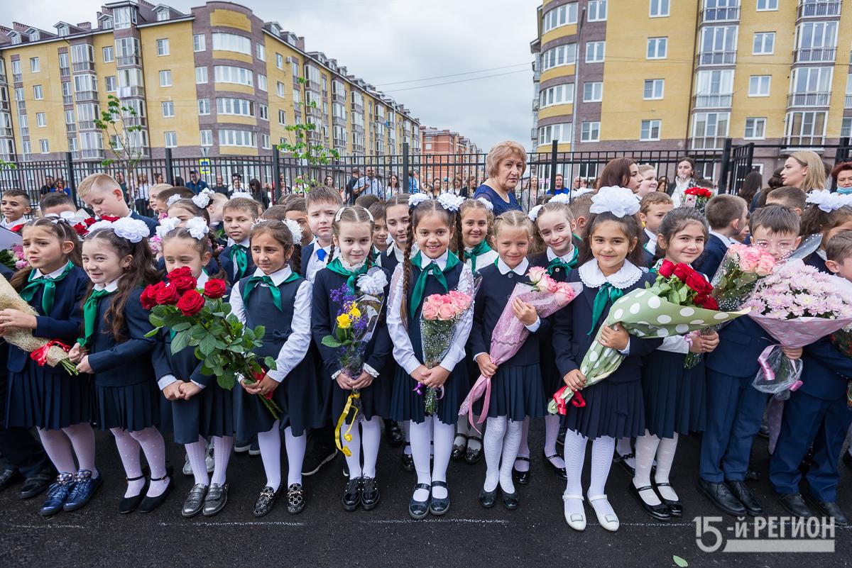 В Северной Осетии завершается первый этап приема детей в первые классы