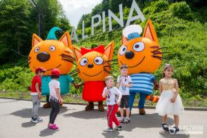 """В Alpina Family Park отпраздновали день защиты детей и презентовали новую продукцию """"Баварии"""""""