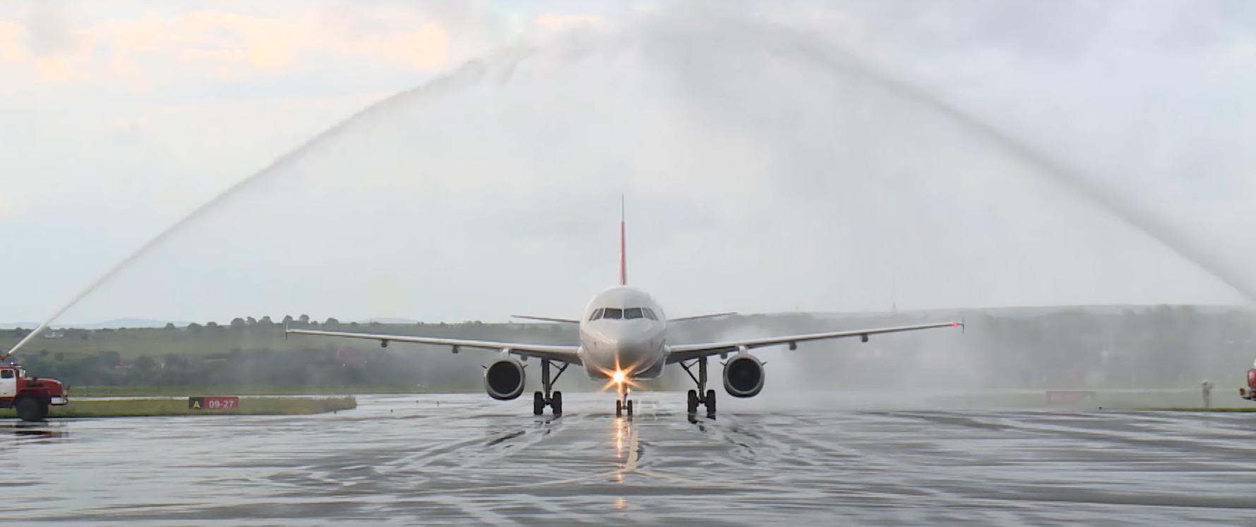 В Международном аэропорту Владикавказ запущены прямые рейсы в Каир, Ереван и Симферополь
