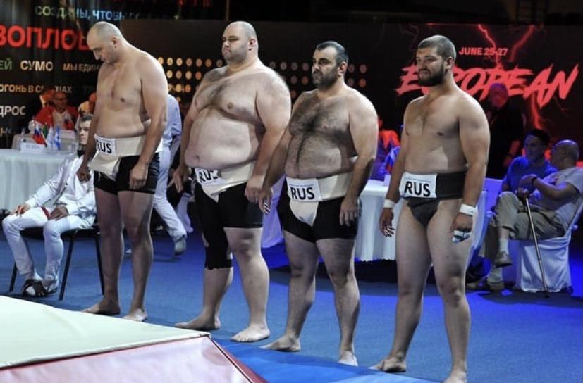 Четыре медали принесли осетинские сумоисты сборной России на чемпионате Европы