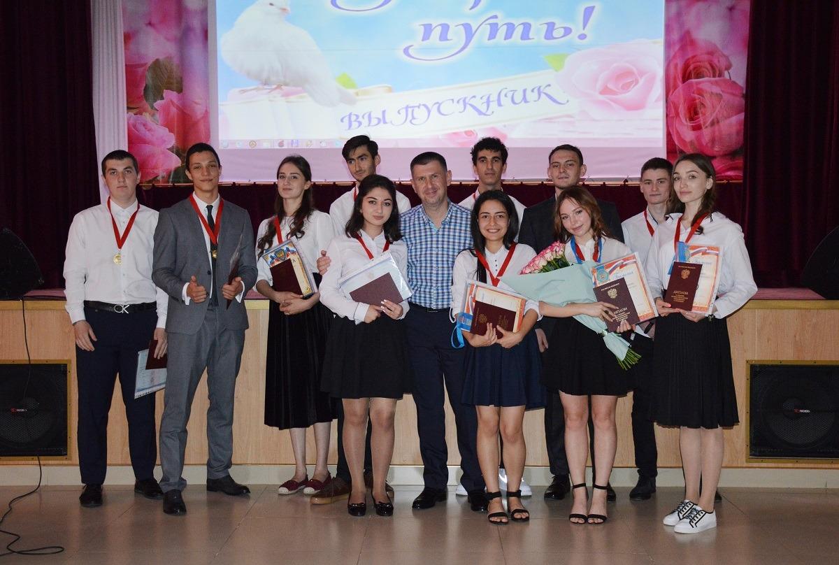 Выпускникам ВТЭТ вручили дипломы