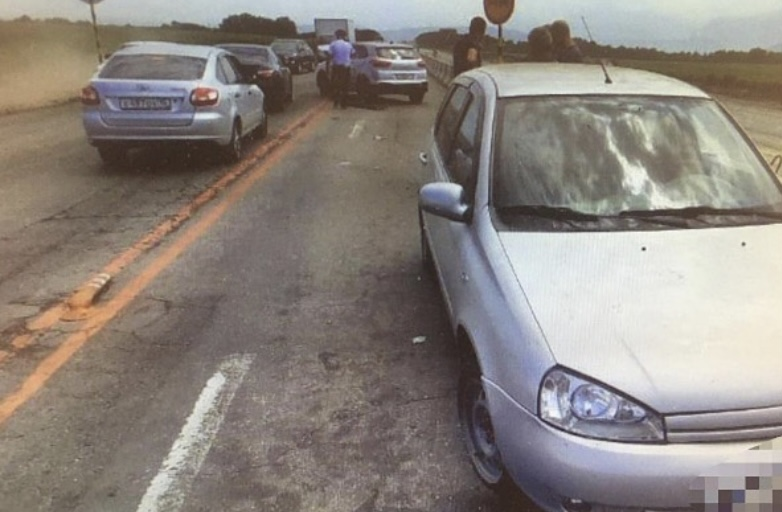 Мужчине, ставшему виновником ДТП на дороге «Владикавказ-Ардон», стало плохо за рулем