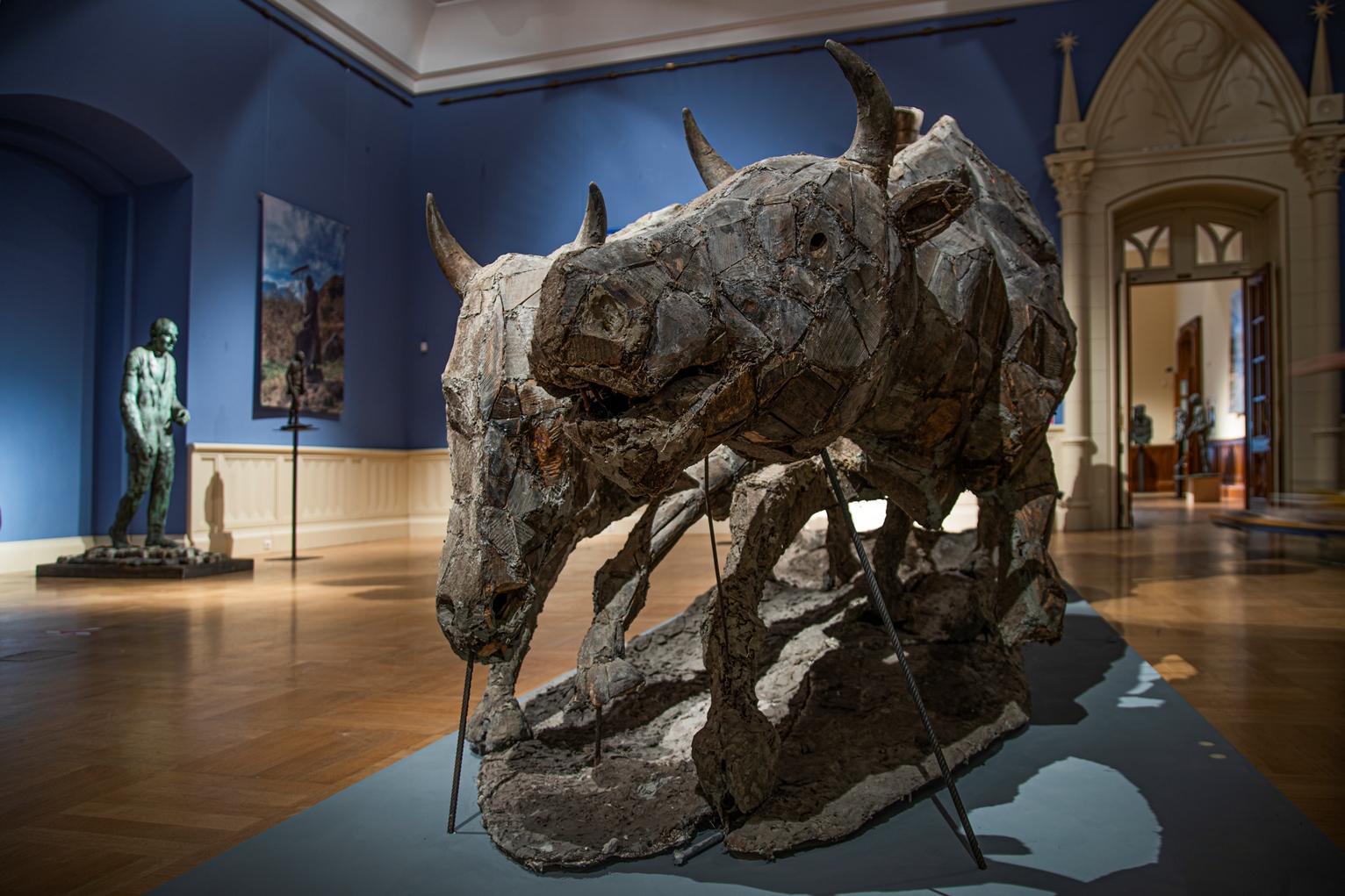 Онлайн-экскурсия работ скульптора Владимира Соскиева состоится в музее-заповеднике «Царицыно»