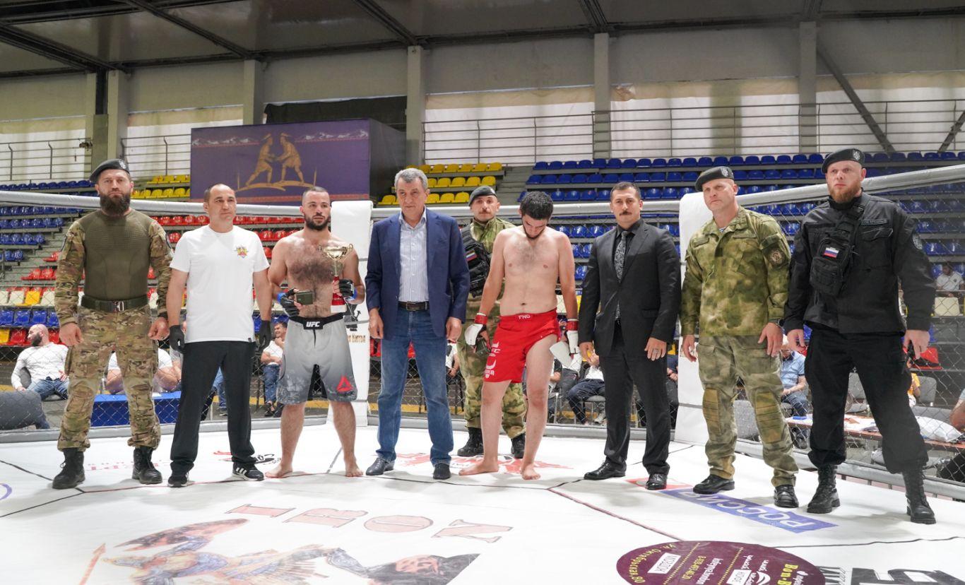 Во Владикавказе прошел международный турнир по единоборству К-9