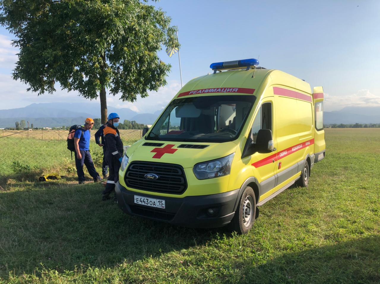 Альпинистка из Томска, попавшая под камнепад в Алагирском районе, скончалась