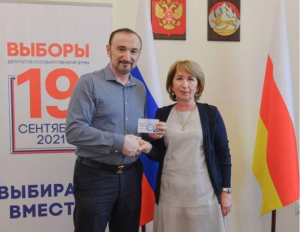 Избирком зарегистрировал Казбека Золоева на выборы депутатов Госдумы от Северной Осетии