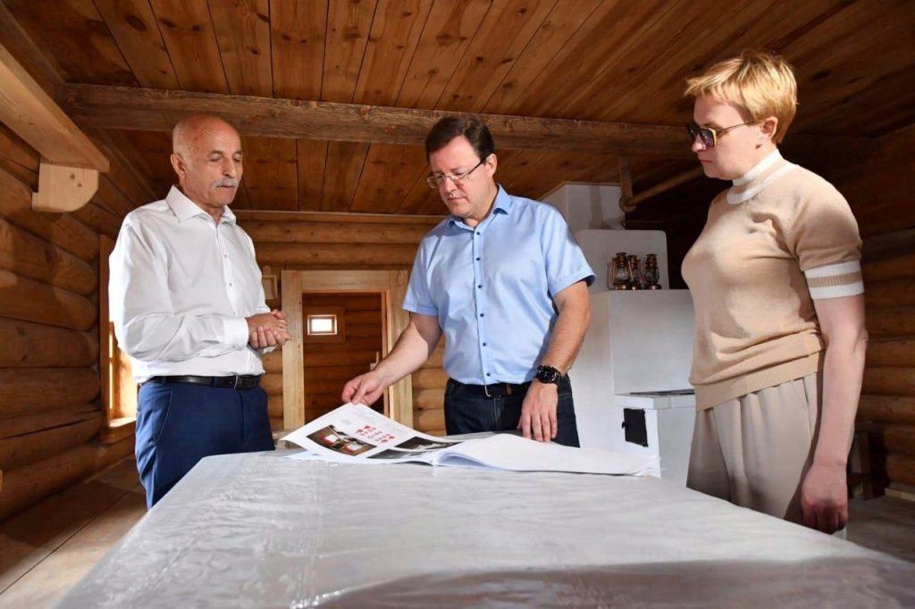 В Самаре в этнокультурном комплексе «Парк дружбы народов» построили осетинский дом