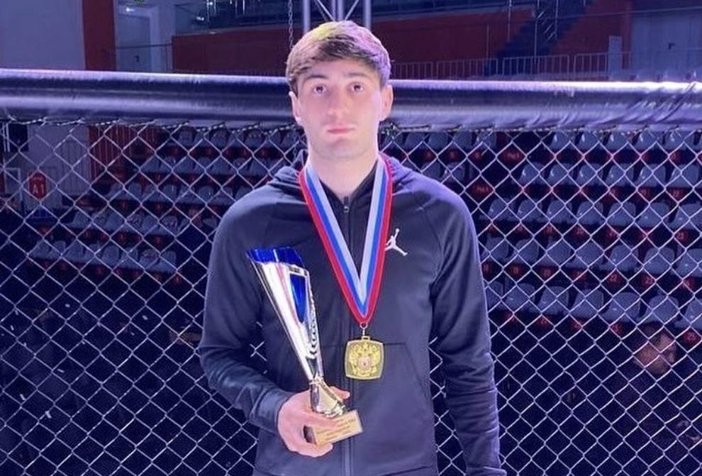 Хетаг Моргоев стал чемпионом России по ММА среди студентов