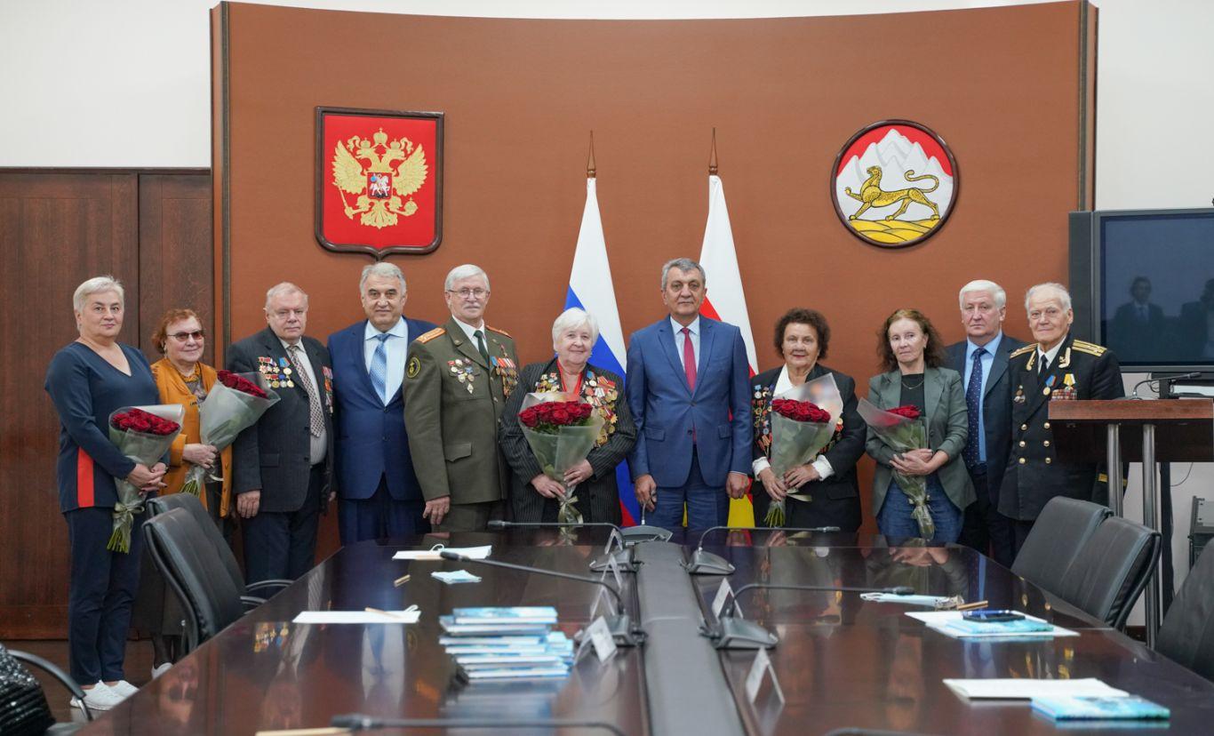 В Северную Осетию приехала делегация осетинского землячества Санкт-Петербурга
