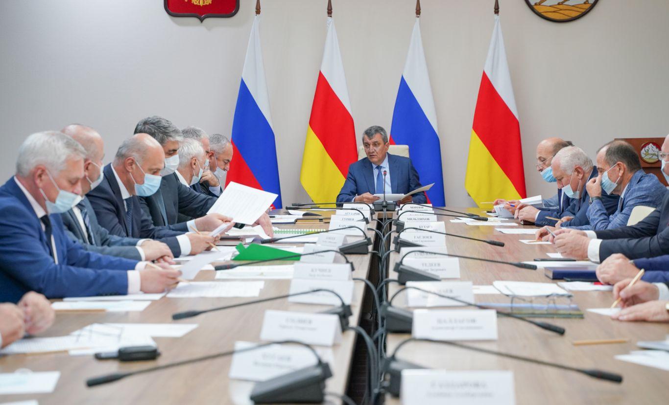 В правительстве Северной Осетии обсудили реализацию инвестиционных проектов