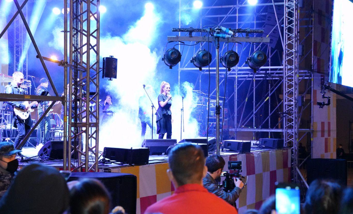 Во Владикавказе состоялся концерт, ставший кульминацией празднования Дня Республики и Дня Города