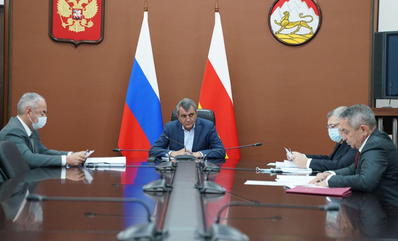 В правительстве республики обсудили вопросы бюджетного планирования