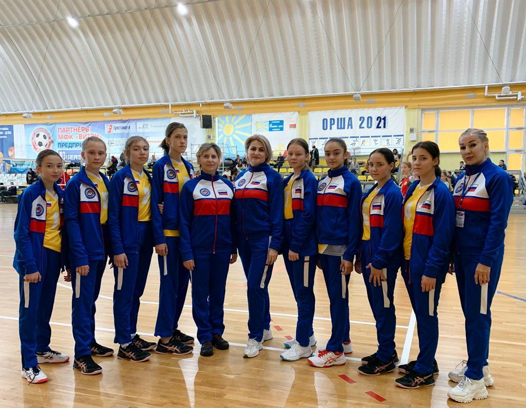 Волейболистки «Аланочки» заняли третье место на Спартакиаде в Белоруссии