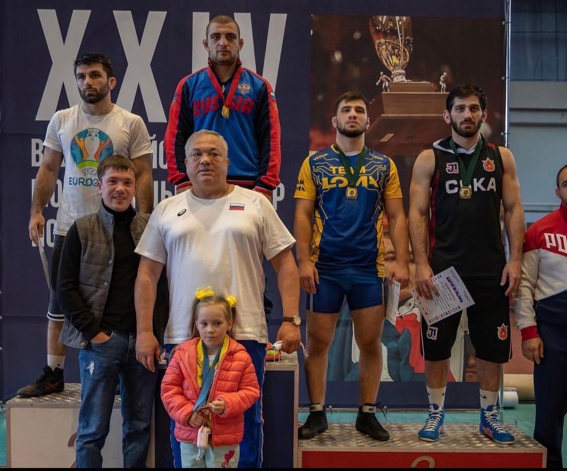 Борец Арслан Багаев выиграл международный турнир в Калининграде