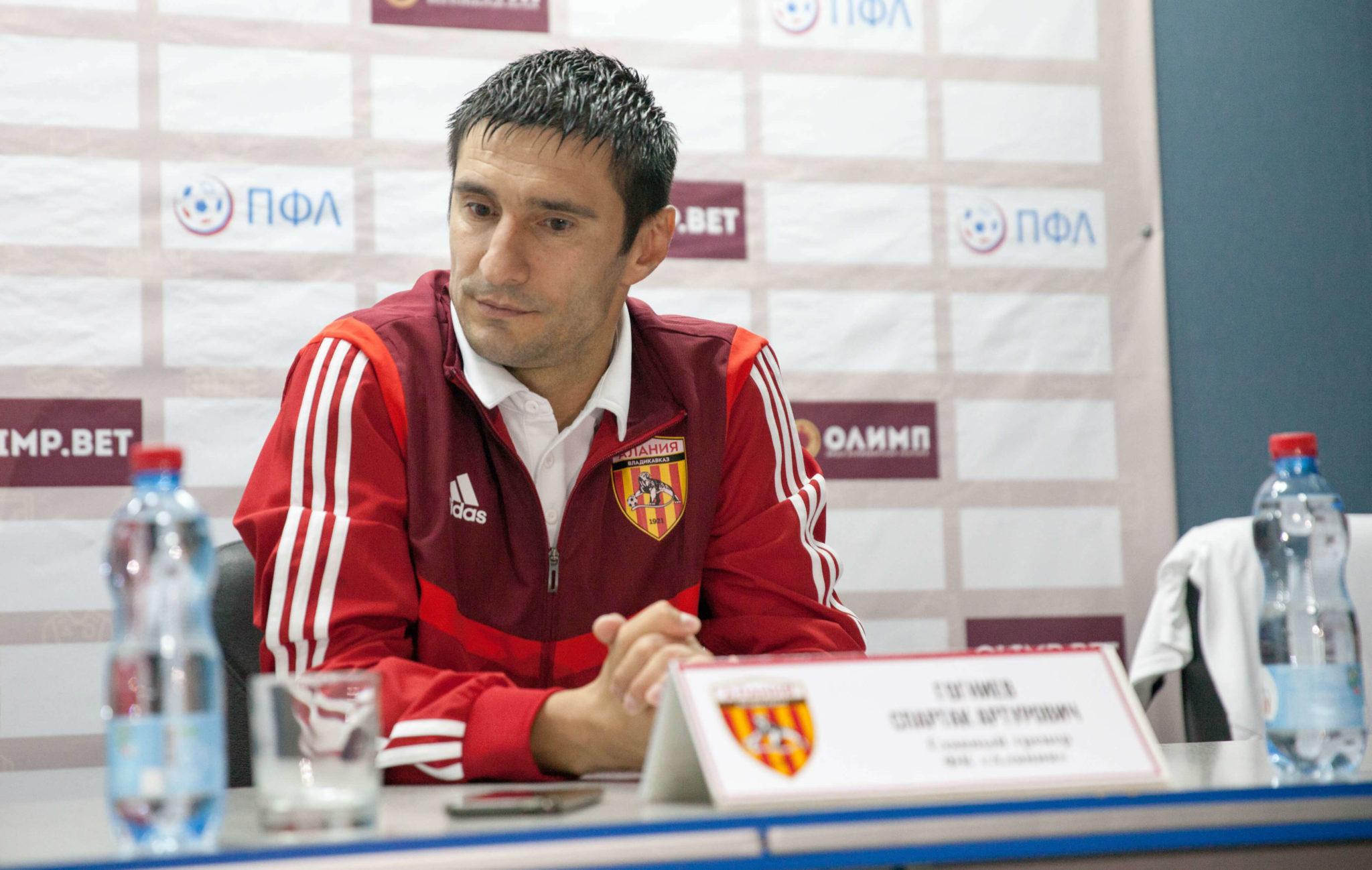 Гогниев заявил, что футболисты «Алании» заслуживали победы в матче с «Волгарем»
