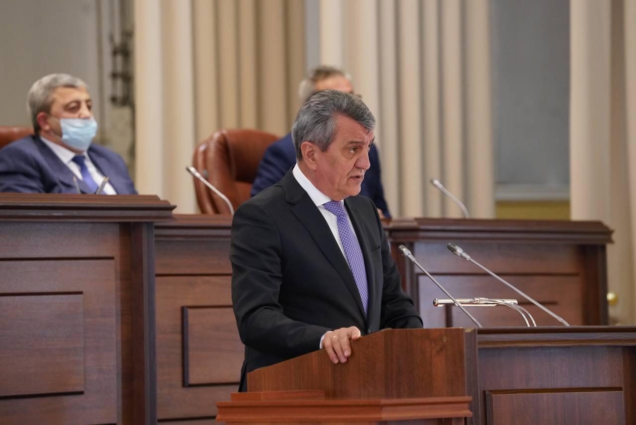 В Северной Осетии Сергея Меняйло избрали главой республики