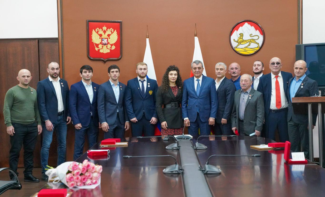 В Северной Осетии чествовали победителей и призеров Олимпийских и Паралимпийских игр в Токио